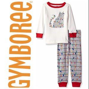 Gymboree Boys Holiday Pajamas Set